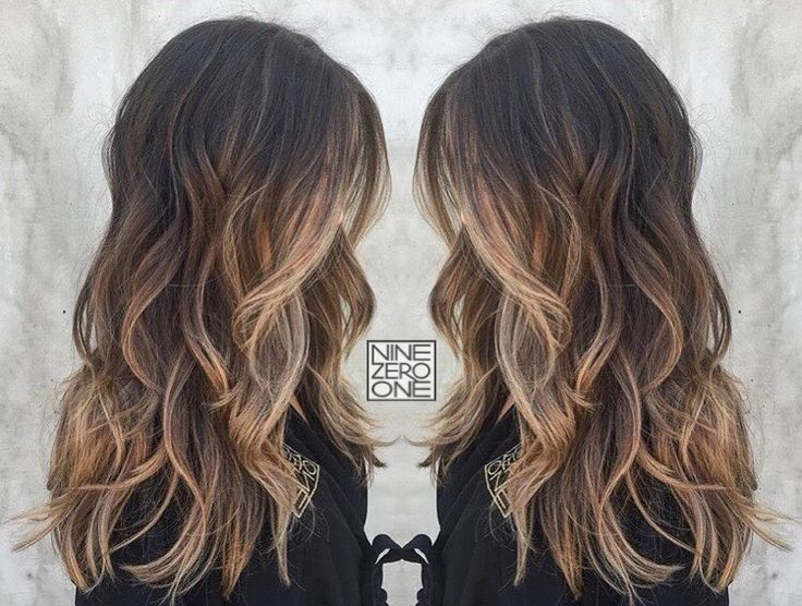 Beautiful brunette by #901artist @seama901! #balayage #bronde #prettyhair
