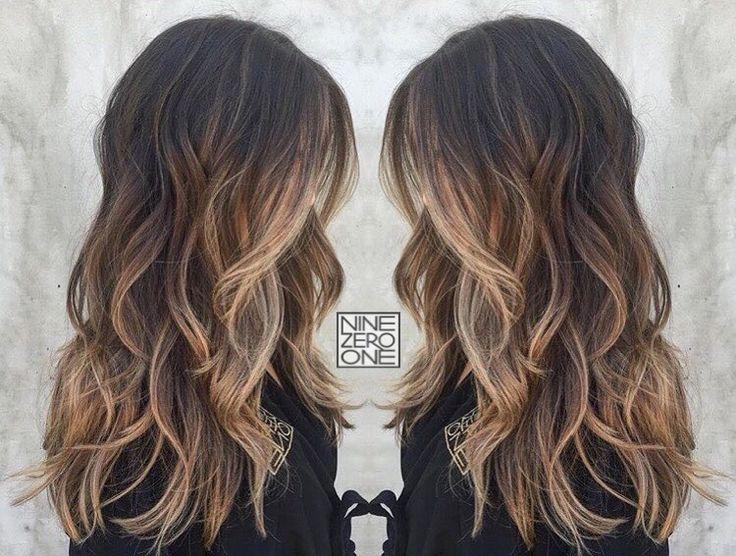 Beautiful brunette by #901artist @seama901! #balayage #bronde #prettyhair