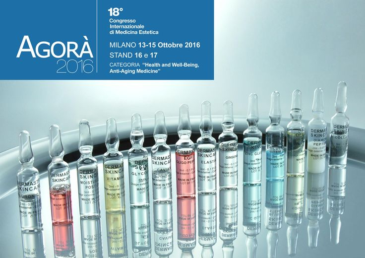 Come to visit Alta Care Laboratoires at the Agorà Congress in Milan from 13th to 15th october 2016 - Stand 16-17.  Free entrance to the exhibition for all Dermastir skincare clients.  #altacarelaboratoires #agoracongress #milan #healthandwellbeing #antiagingskincare #antiagingmedicine #skincareproducts #luxuryproducts #luxuryskincareline #airless #madeinfrance #agora #agoramilano
