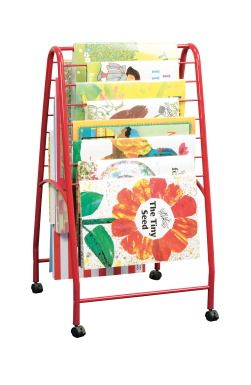 Mobile Big Book Storage Caddy - SCHOOL SPECIALTY MARKETPLACE