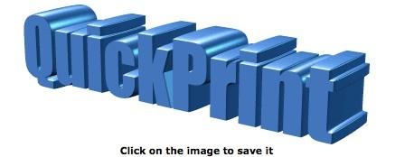 QuickPrint 3D Logo