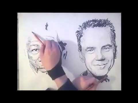 Очень крутой художник