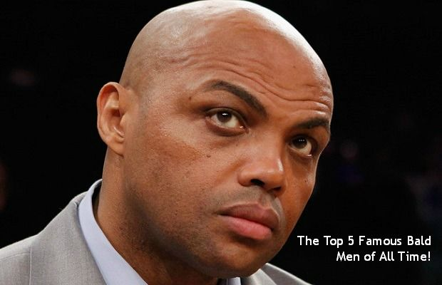 The top 5 Famous Bald Men of All Time!