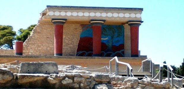 Palace in Knossos, Greece