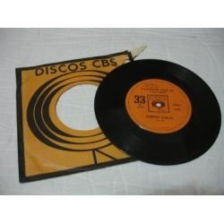 disco de vinil da CBS, e compacto!