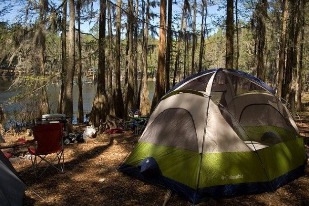 Primitive camping list for backcountry camping in Florida