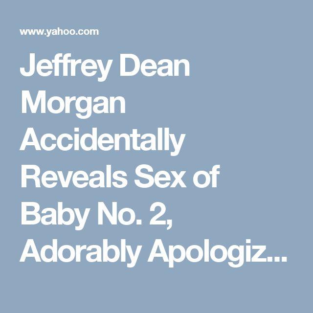 Jeffrey Dean Morgan Accidentally Reveals Sex of Baby No. 2, Adorably Apologizes to Wife Hilarie Burton