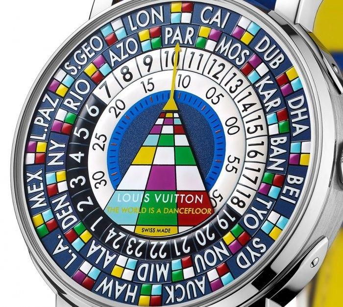 "Эксклюзивные часы ""The World is a Dancefloor"" от Louis Vuitton"