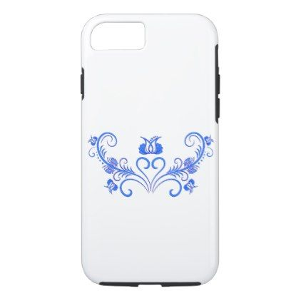 Hungarian Floral Motif iPhone 8/7 Case - spring gifts beautiful diy spring time new year