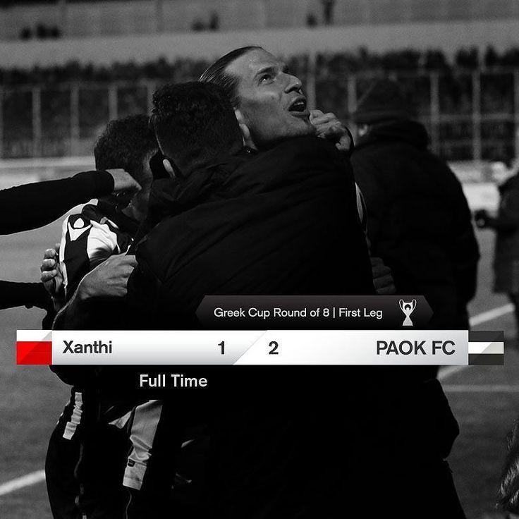 #XANTPAOK 1-2 #GreekCup #PamePAOKARA