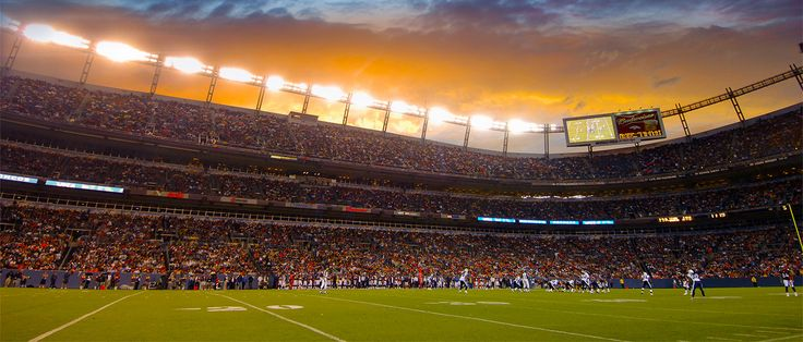 My all time favorite team is the Denver Broncos. Some day