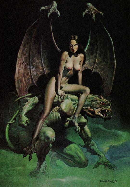 She-Devil by Boris Vallejo (1981)