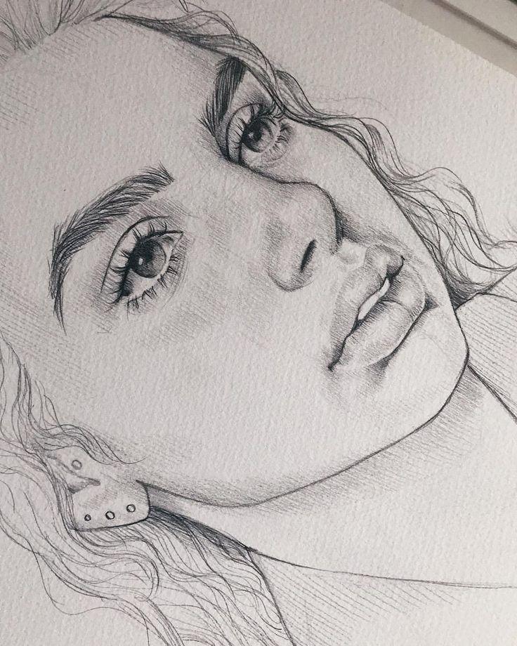 красивые картинки для рисования простым карандашом услышали впервые, когда