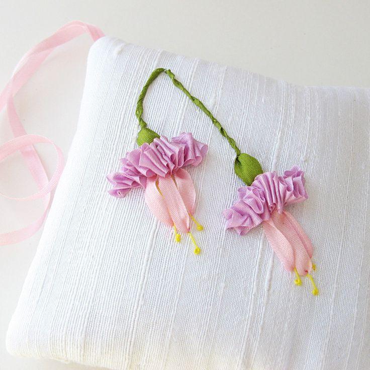 Pink Fuchsias Lavender Sachet