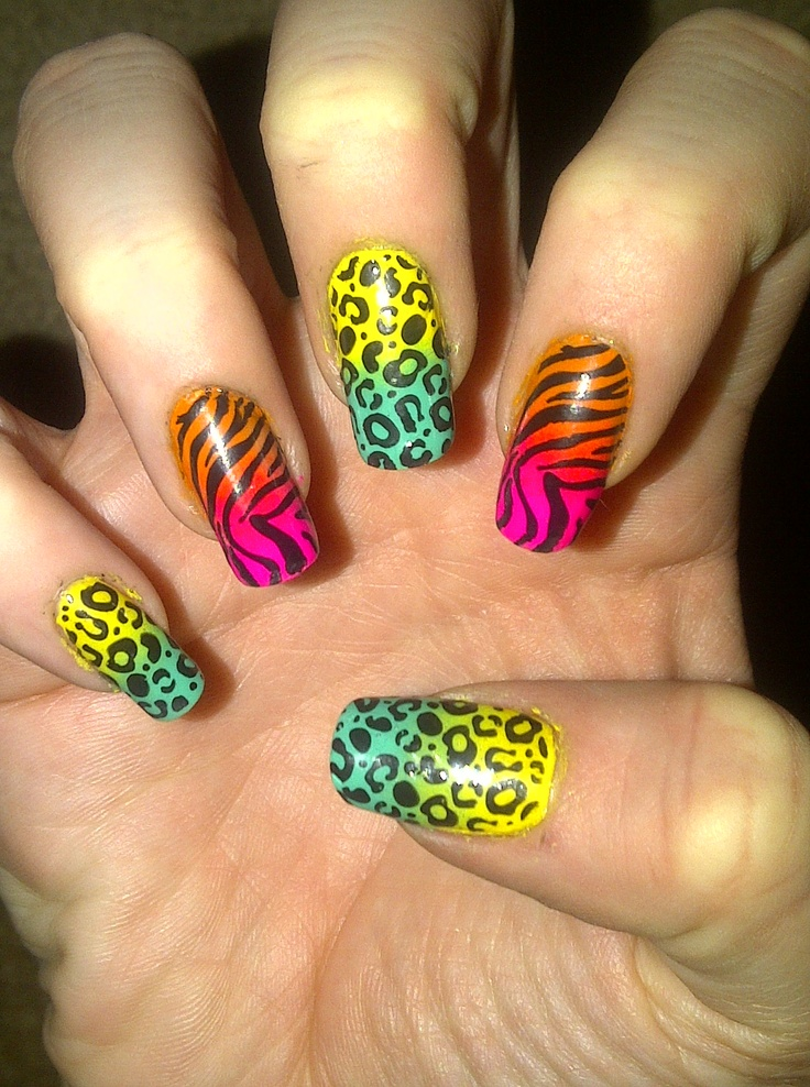 Cool nails that hopes thinks that is cool