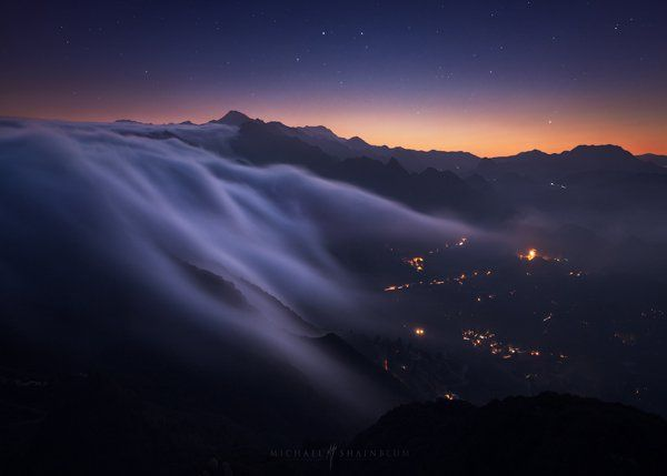 Cascade of Clouds - Stunning Nature Photography by Michael Shainblum  <3 <3