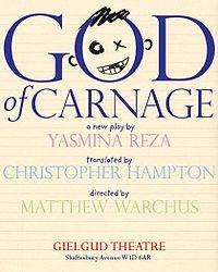 God of Carnage - Yasmina Reza.  Want to do this play.
