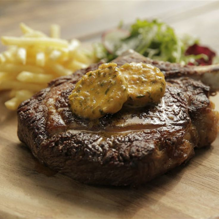 Try this Kimberly Rib with Café de Paris Butter recipe by Chef Matt Moran. This recipe is from the show Paddock To Plate.