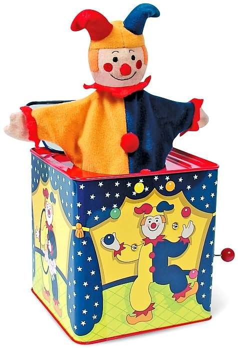 Schylling - Jack in the Box Jester This would make my baby girl laugh! #EntropyWishList #PinToWin