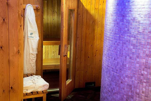 Sauna en el hotel Acta Florida de Andorra.