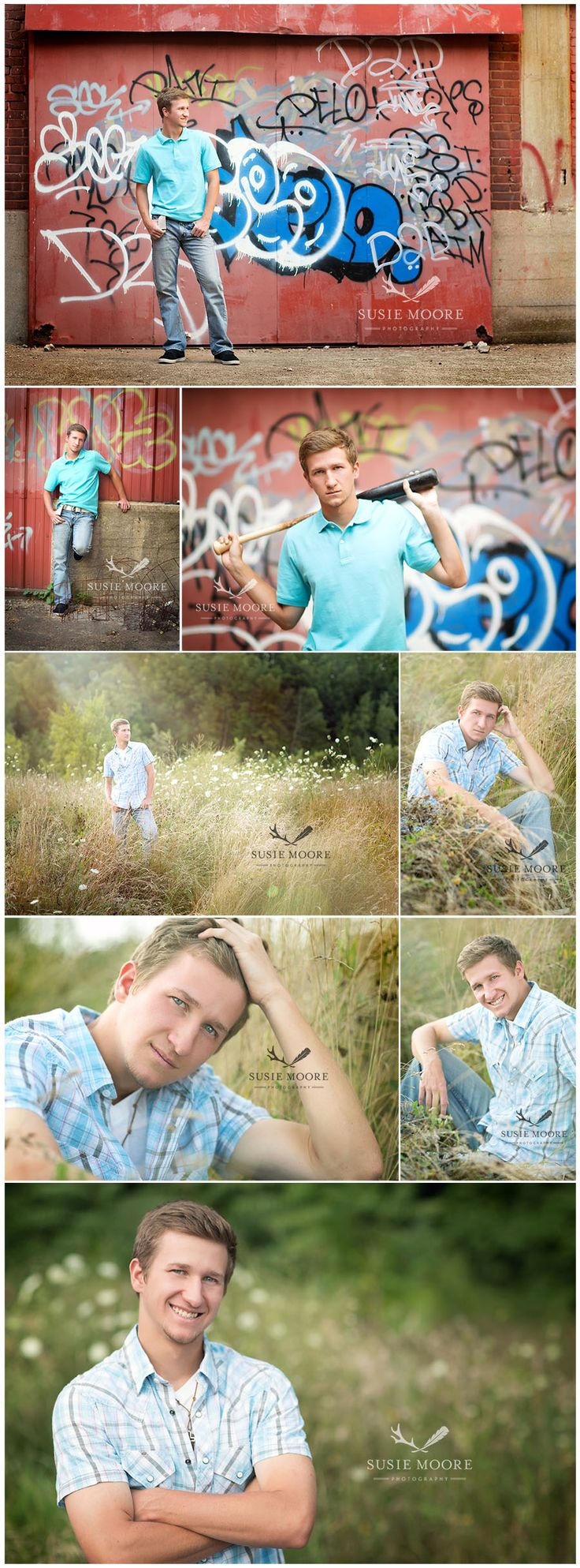 Senior Guy | Evan | Susie Moore Photography