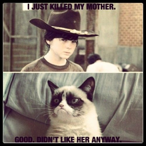 this one's for The Walking Dead Fanatics