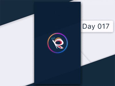 Day 017 - Redraw Splashscreen by Gabriel Paunescu