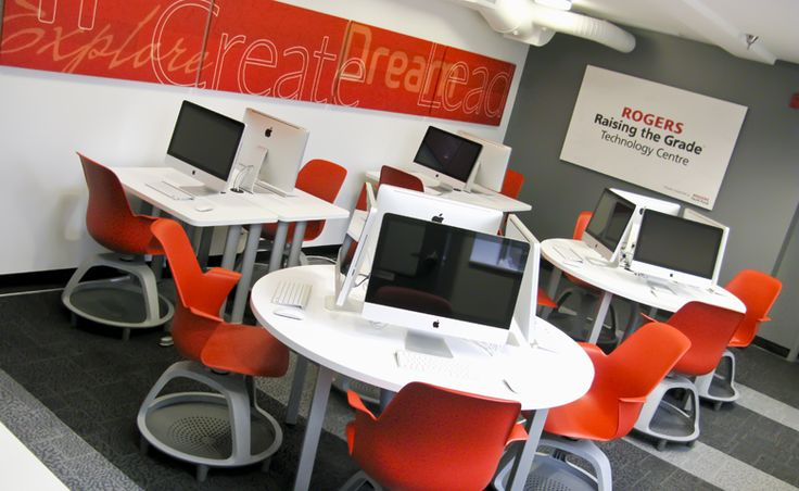 Best 25 computer lab design ideas on pinterest for Decorating ideas for computer room