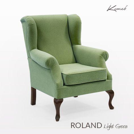 Fotel Roland - light green