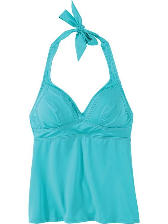 Updated Set It And Forget It Tankini Top - Solid $64