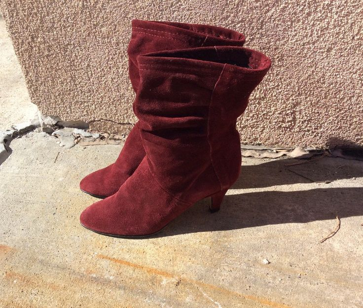 A personal favorite from my Etsy shop https://www.etsy.com/listing/226294087/vintage-1970s-womens-boho-maroon-suede