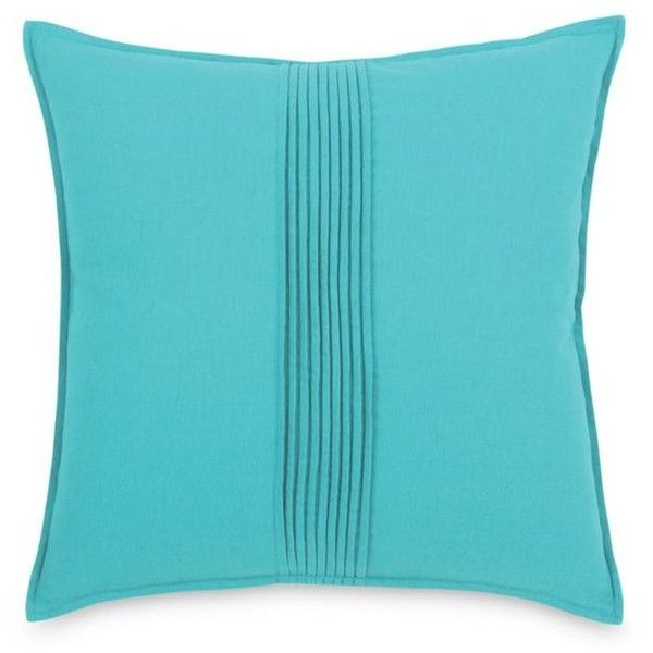 blissliving home turquoise pierce decorative pillow 55 liked on polyvore featuring home