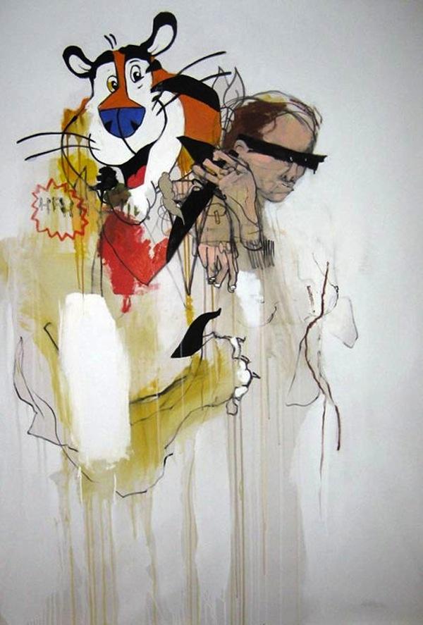Anthony Lister, Street Art, Graffiti