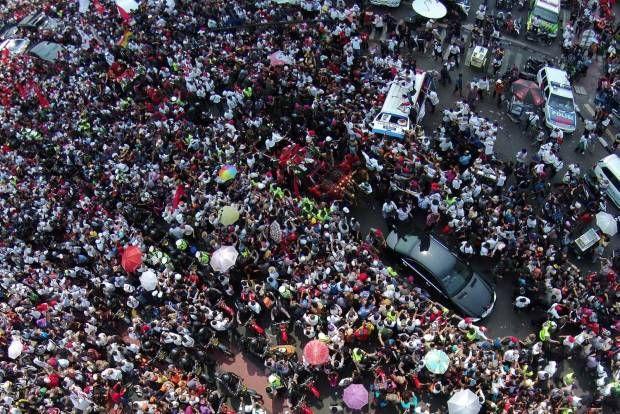 Sejarah Baru! Syukuran Rakyat Menyambut Presiden Jokowi