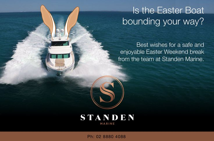 Is the Easter Boat bounding your way? Best wishes for a safe and enjoyable Easter Weekend break from the team at Standen Marine.  ‪#‎Easter‬ ‪#‎GoodFriday‬ ‪#‎ILoveSydney‬ ‪#‎Harbour‬ ‪#‎SydneyHarbour‬ ‪#‎HarbourBridge‬ ‪#‎OperaHouse‬ ‪#‎Boat‬ ‪#‎Boating‬ ‪#‎MotorYacht‬ ‪#‎SuperYacht‬ ‪#‎HorizonYachts‬ ‪#‎HorizonMotorYachts‬ ‪#‎StandenMarine‬