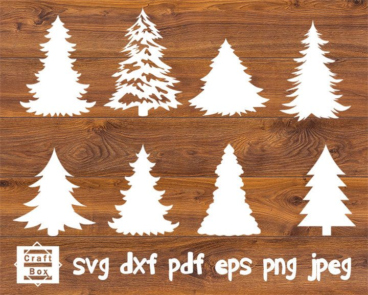 christmas tree svg christmas tree dxf tree svg tree template