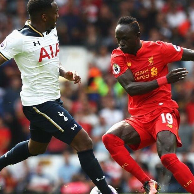 Danny #Rose #Tottenham contro Sadio #Mane #Liverpool