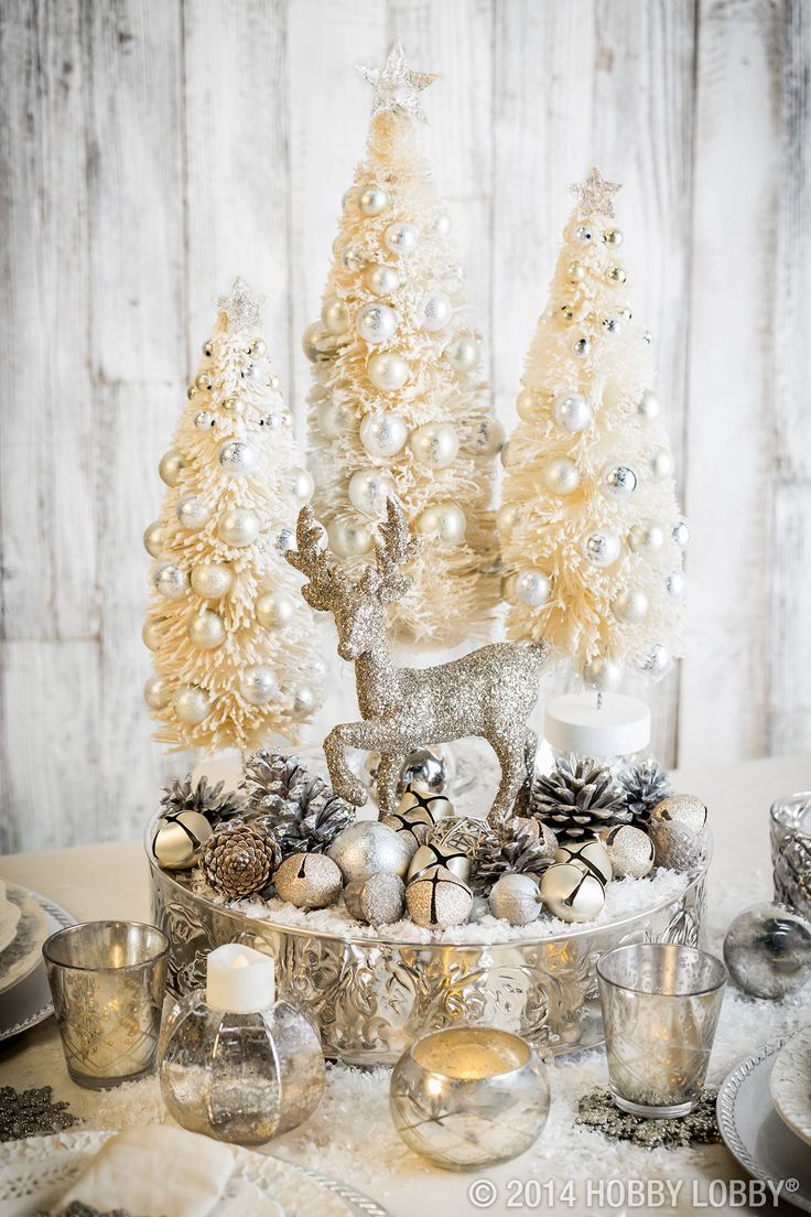 Transform your Christmas decor into winter wonderland displays to transition into the new year.