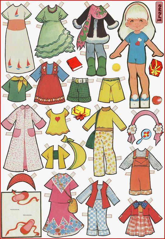 В этом топике я вам покажу кукол, которые меня «зацепили». Они – бумажные куклы испанского иллюстратора детских книг Марии Паскуаль