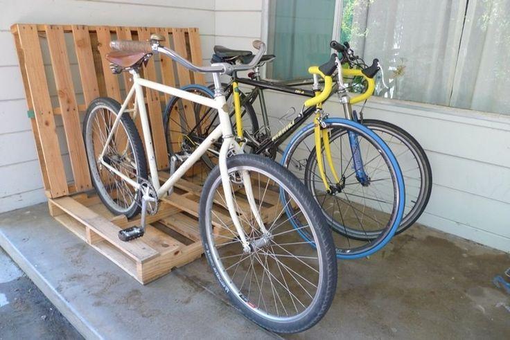 Ready To Roll: 9 Bike Stand DIY Ideas
