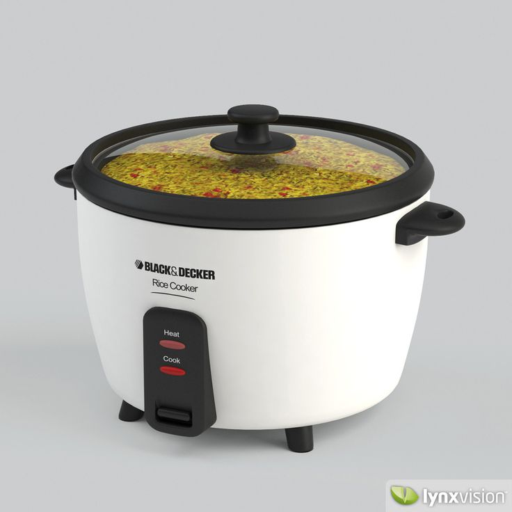 rice cooker with new design 3d models - Google Search