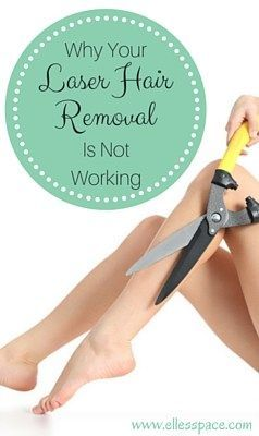 Why Your Laser Hair Removal Is Not Working!  If you are struggling with less than stellar results from laser hair removal read this before you go any further.