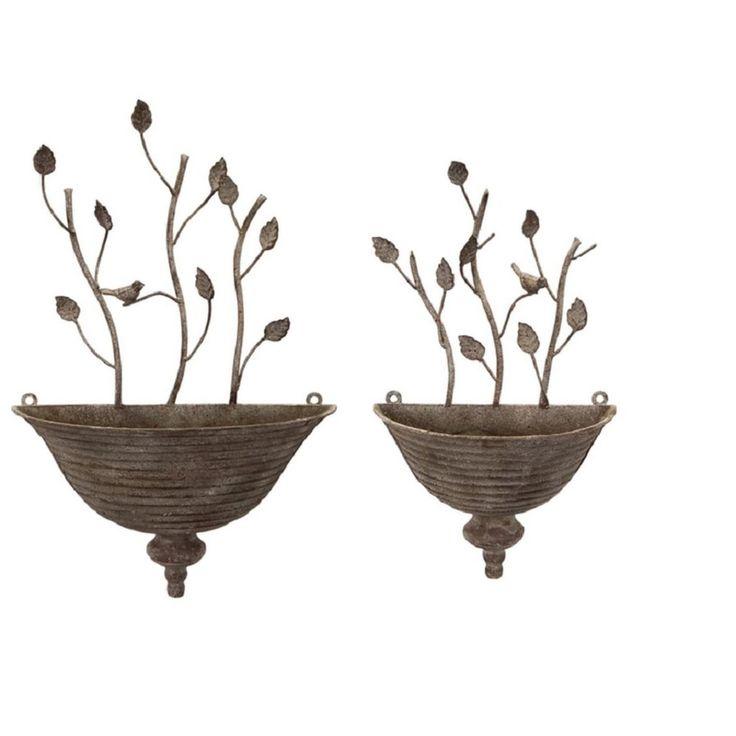 best 25 wall mounted planters ideas on pinterest garden. Black Bedroom Furniture Sets. Home Design Ideas
