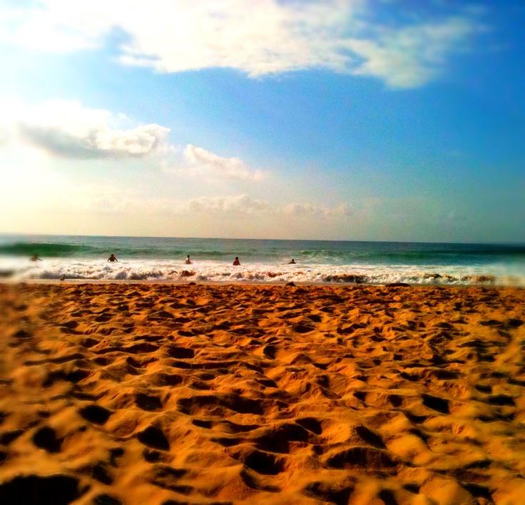 Cronulla beach.