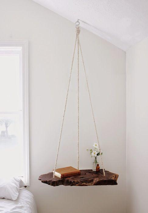 Интересный подвесной стол.