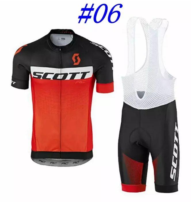 Scott Cycling jersey set w shorts multiple colors sizes