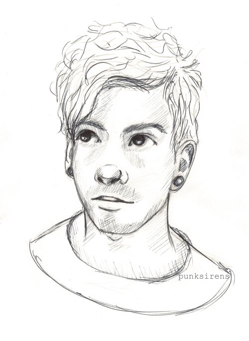 "Sketch of Josh Dun. ...""This is so good!!"""