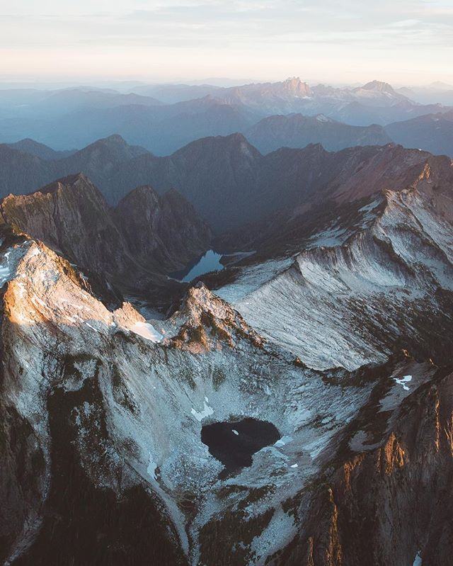 Peaks of the North Cascades.