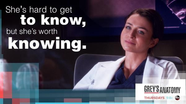 """She's hard to get to know, but she's worth knowing."" Dr. Amelia Shepherd to Dr. Maggie Pierce, Grey's Anatomy season 11 quotes"