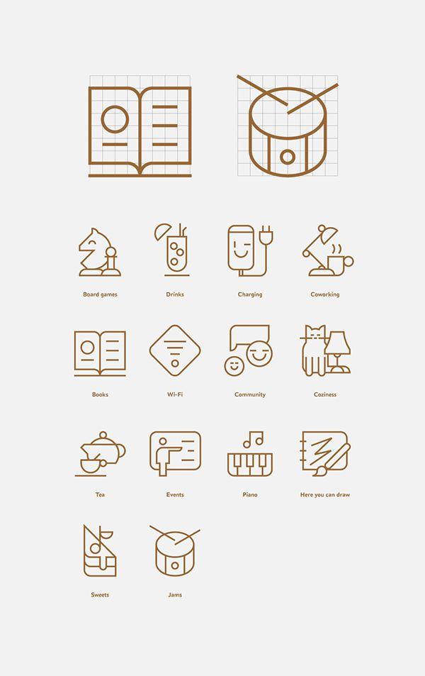 Evgeniy Artsebasov — Tsiferblat coworking icons  #icon #icons #icondesign #iconset #iconography #iconic #picto #pictogram #pictograms #symbol #sign #zeichensystem #piktogramm #geometric #minimal #graphicdesign #mark #enblem #grid #icongrid #gridsystem #iconmanual #manual
